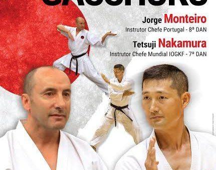 Gasshuku com Sensei Jorge Monteiro e Sensei Tetsuji Nakamura
