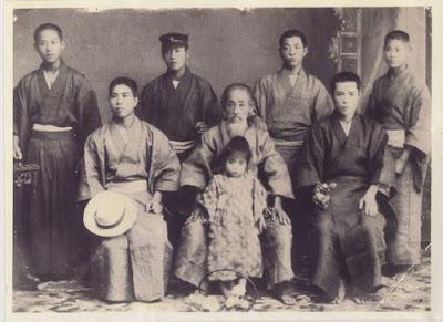 Sensei Kanryo cerca de 1900