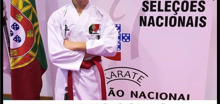 Participação do atleta Bruno Gomes no Campeonato da Europa