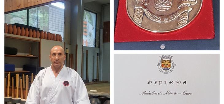 IOGKF Portugal (APOGK) distinguida com Medalha de Mérito pela Câmara Municipal da Maia