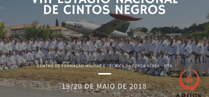 VIII Estágio Nacional de Cintos Negros – Ota – 19 e 20 de maio de 2018 | Yudansha Portuguese Gasshuku – Ota – May 19th and 20th, 2018