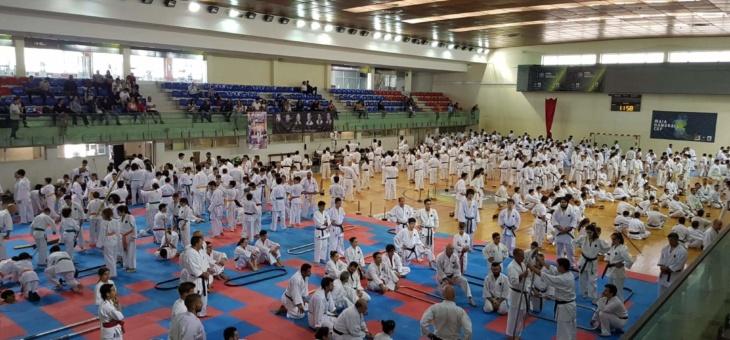 Estágio Nacional de Karate – Maia – 29 de junho a 1 de julho de 2018 – Portuguese National Gasshuku
