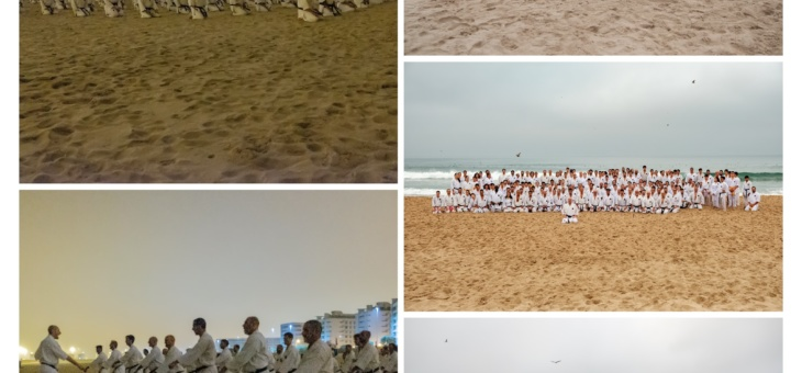 Treino de Karate | Praia de Matosinhos | 30/09/2018
