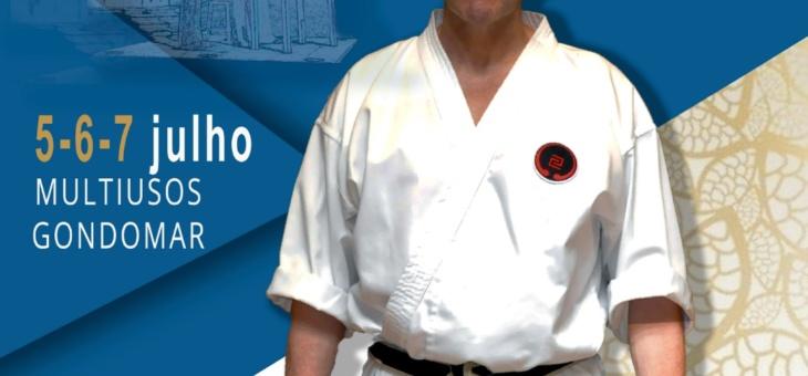 Estágio Nacional de Karate – 5 a 7 de julho de 2019 – Multiusos de Gondomar