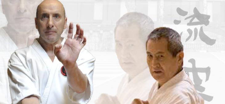 Estágio de Karate – 13 a 15 de dezembro de 2019 – Sensei Jorge Monteiro e Sensei Uehara Yonekazu
