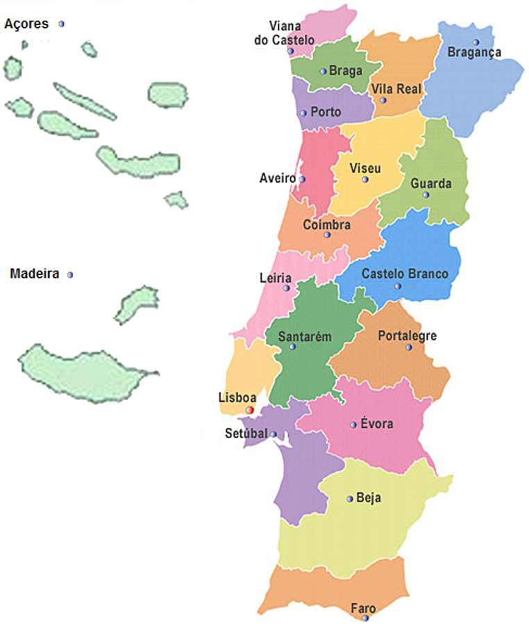 mapa de portugal com ilhas Dojos – IOGKF PORTUGAL mapa de portugal com ilhas